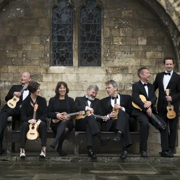 Ukulele Orchestra of Great BritainDienstag, 19.02.2019 / 20:00,